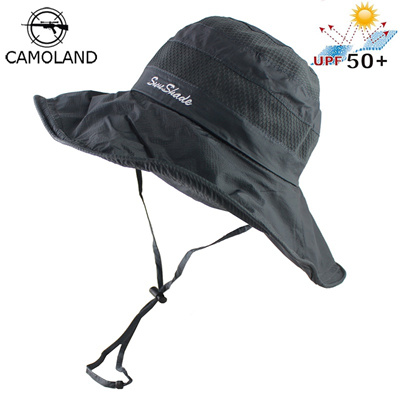 Qoo10 - Lightweight UPF50+ Summer Sun Hat for Mens Womens Bucket Hat  Breathabl...   Men s Bags   Sho. f234bb8c979