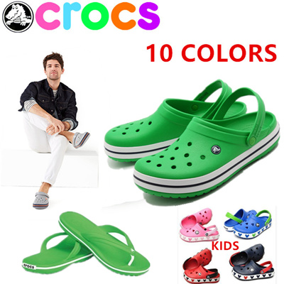 reputable site 7fc63 ea6c8 【limit to sale】slippers CROC S sandals Mens wonmens shoes slippers beach  shoe material light