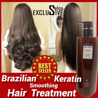 qoo10 limited qty keratin treatment suitable for