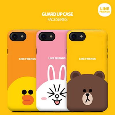 reputable site 915e2 211f6 LINE FRIENDS★Authentic★Line Friends Big Point Bumper Case★iPhone  X/8/7/6/S/Plus/Galaxy Note 8/5/S9/S8/Plus/S7