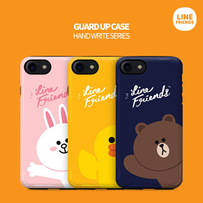 best website d5a03 0f95a LINE FRIENDS★Authentic★Line Friends Cursive Bumper Case★iPhone  X/8/7/6/S/Plus/Galaxy Note 8/5/S9/8/Plus/S7/Edge