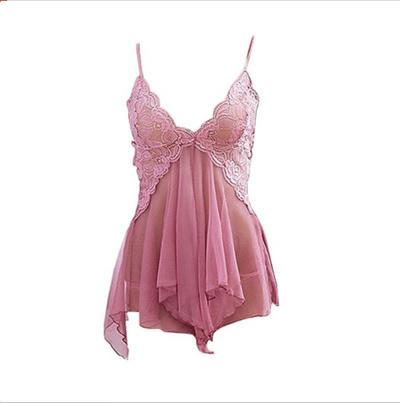 Qoo10 - Lingerie Dress V-Neck Sexy   Pakaian dalam   Kaos kaki b20356b682