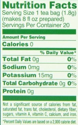 Lipton Green Tea 100% Natural Tea Bags