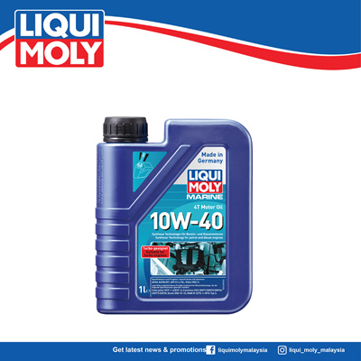 Liqui MolyLiqui Moly MARINE 4T MOTOR OIL 10W-40 5L (high-performance  low-friction) 1239 (Official Store)