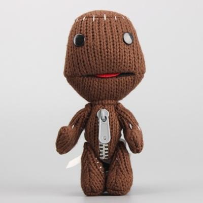 Qoo10 Little Big Planet Sackboy Plush Toys Cuddly Knitted Stuffed