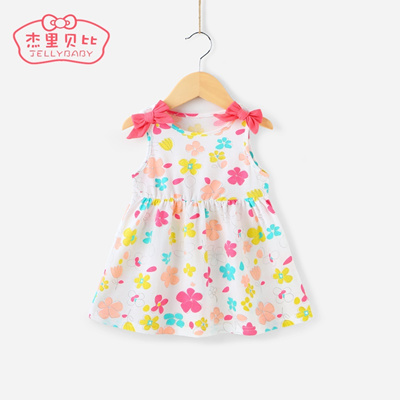 35c7de843 Qoo10 - Little dress baby 0-1-2 girls cotton summer dress children ...