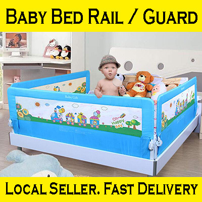 qoo10 baby bed rail guard baby maternity. Black Bedroom Furniture Sets. Home Design Ideas