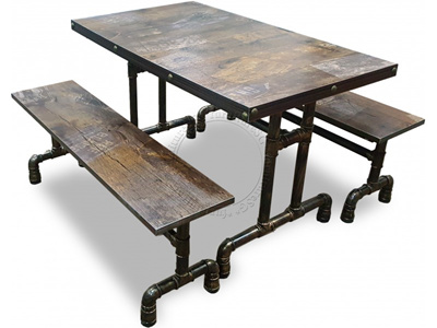 Qoo10 Industrial Dining Furniture Deco