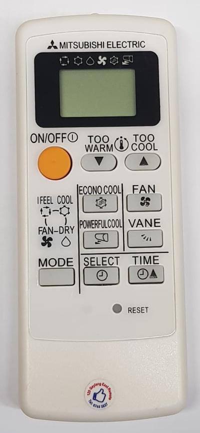 ★Local Shop★ (1 MONTH WARRANTY) (MP04B) Mitsubishi AirCon Remote Control  Air Con Air-Conditioner