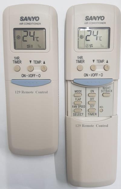 ★Local Shop★ Sanyo AirCon Remote Control-Substitute: RCS-2S1 RCS-5/7S1E  RCS-2S2E RCS-2S2EB RCS-3S4EG