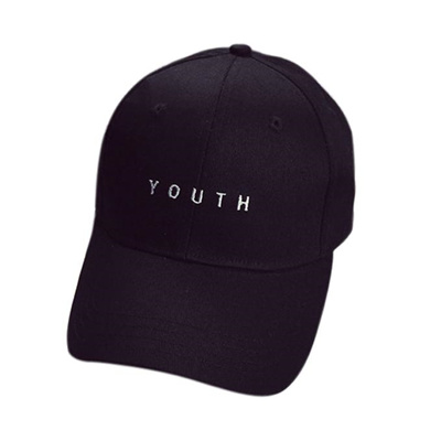 Local Store 2018 New Embroidery Cotton Baseball Cap Boys Girls Snapback Hip  Hop Flat Hat Black 288c28be4cf