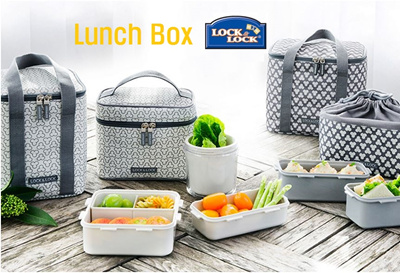[Lock n Lock] Clover Combo Lunch Box/ Healthy lunch box/ Adult and