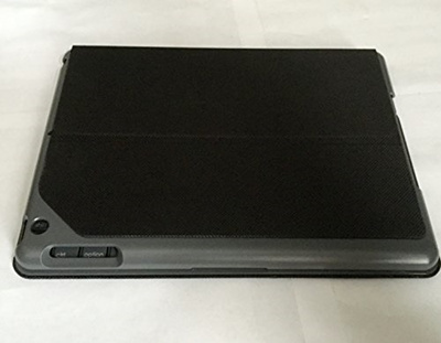 bdd57e0eeb7 Qoo10 - Logitech Canvas Keyboard Case for iPad Air - Black : Computer & Game