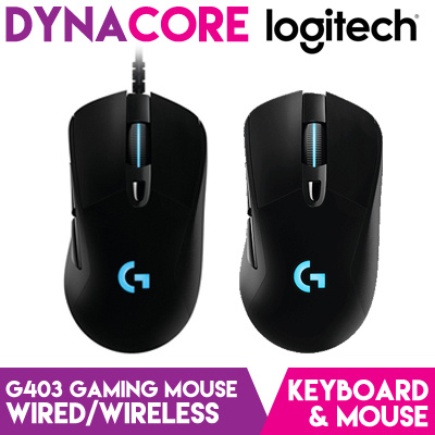 49d3193097f Qoo10 - [LOGITECH] G403 Gaming Mouse Wired / Wireless : Computer & Game