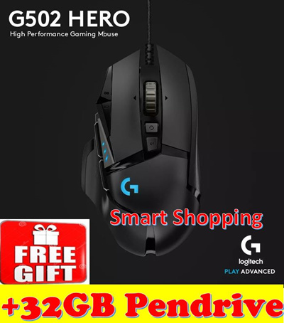 82ea93c89ba Logitech G502 HERO RGB Tunable w 11 Programmable Buttons 910-005472  (upgraded of Proteus
