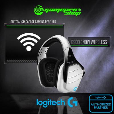 LogitechLogitech G933 Artemis Spectrum Snow Limited Edition Gaming Headset  / 2 Years Local Warranty