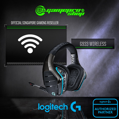 LogitechLogitech G933 Artemis Spectrum™ Wireless 7 1 Surround Gaming  Headset / 2 Years Local Warranty