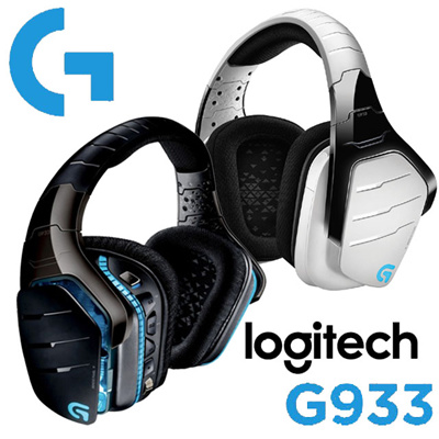 LogitechLogitech G933 Logitech Artemis G933 Wireless Gaming Headset Snow  Limited Edition