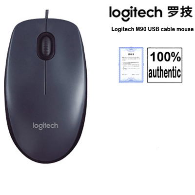 47cdd8ef2a4 logitech m90 wired mouse usb laptop desktop computer games home office optical  mouse