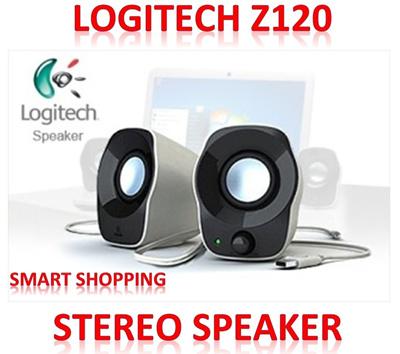 9841caa8516 Logitech Z120 Portable Speaker with Knob (USB POWER+3.5 Stereo) PC/Laptop
