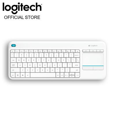 Logitech Official StoreLogitech K400 Plus Wireless Touch Keyboard - White  (920-007166)