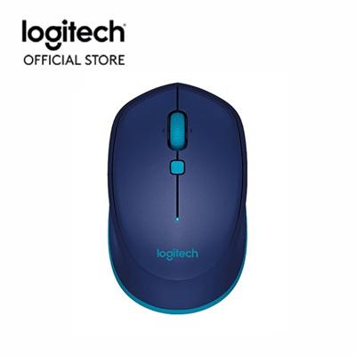 Logitech Official StoreLogitech M337 Bluetooth Mouse - Blue (910-004534)