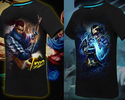 LOL League of Legends T-Shirt Yasuo Twisted Fate