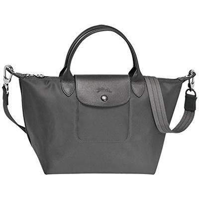 Longchamp Bag Le Pliage Neo Small Grey Handbag