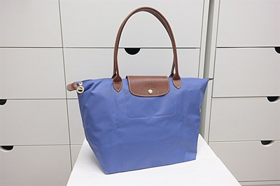 Large Longchamp Le Pliage Long Handle Super