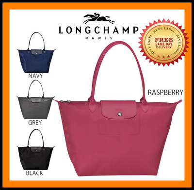 d097d470d8b5  LARGE Longchamp Le Pliage Neo Long Handle Large