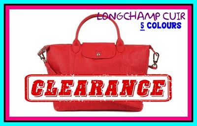 LEATHER CUIR LONGCHAMP  CLEARANCE SALE!!!  198fa3b306a7e