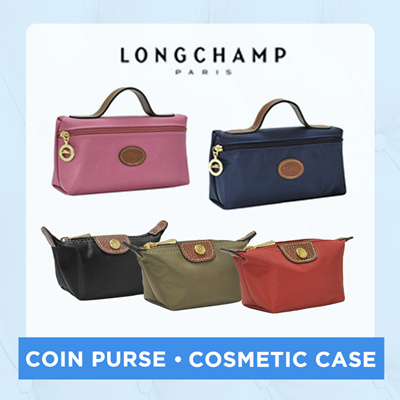 Official Thatbagiwant Longchamp Le Pliage Nylon Coin Purse Cosmetic Case