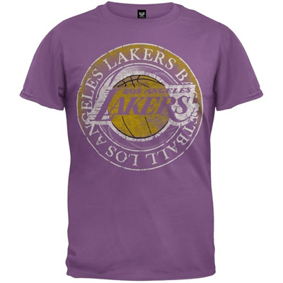 Qoo10 - Los Angeles Lakers - Basketball Logo Soft T-Shirt   Women s Clothing 6418aab0e