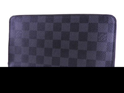 d70950d31197 Louis Vuitton Zippy Organizer Round Zipper Long Purse Damier Graphite  Canvas N 63077  pre