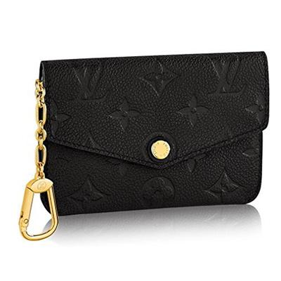 fa130d1df778 Qoo10 - Louis Vuitton Monogram Empreinte Leather Key Pouch Noir Article   M6063...   Bag   Wallet