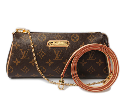 5b0cd57ba588 Louis Vuitton shoulder bag   clutch bag LOUIS VUITTON Eva M95667 2way  monogram with strap  . prev next