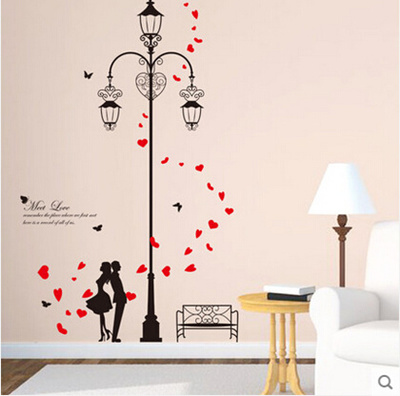 Love Decorative Wall Stickers Living Room Wall Stickers Wall Painting Wall Stickers Bedroom Temperat