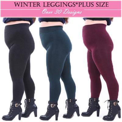 8c96d15ffd8 New Women Plus size Winter Leggings high quality winter Women pants --10