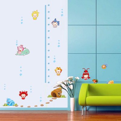 Lovely decorative bathroom wall stickers for children bedroom wall stickers stickers waterproof tile