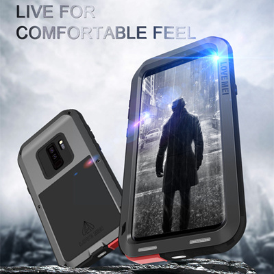 online retailer 5306c 56615 LOVEMEI Powerful Metal Waterproof Case For Samsung Galaxy S9 S9 Plus  Aluminum ShockProof Defender