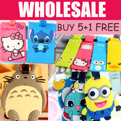 Qoo10 - Cartoon Luggage Tags   Stationery   Supplies 43838bd52980e