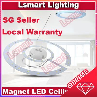 LsmartLED Light★Ceiling Light★Magnet Lamp★Replacement light for Fluorescent  Tube★HomeLighting★Strip★
