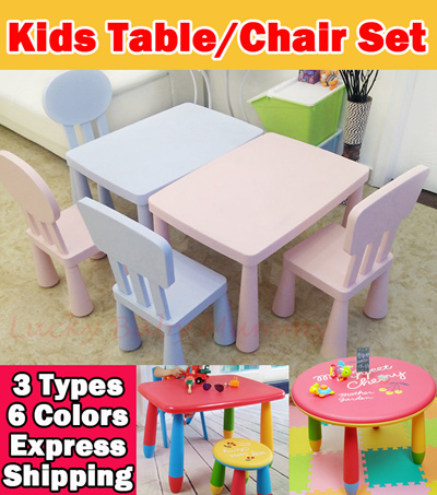 【Local Seller】Taiwan Kids Play/Study Table/Kids Table/Toy Rack