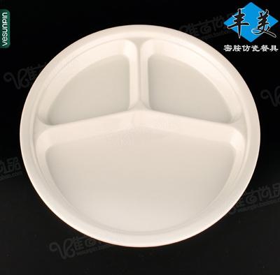 Lush melamine plates-fast food tray 10-inch dinner plate of rice with plastic & Qoo10 - Lush melamine plates-fast food tray 10-inch dinner plate of ...