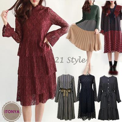 Qoo10 Luxury Ethnic Dressdaily Dressknit Dresslace Dresscasual