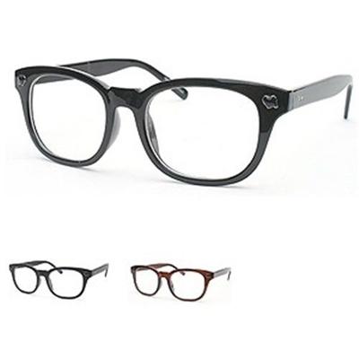 Qoo10 - Luxury Plastic Frame Glasses Clear Lens Men Women Eyeglass ...