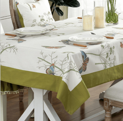 luxury table cover 2design butterfly waterproof table covers/table cloth table cover/desk cushion & Qoo10 - table cover : Furniture \u0026 Deco