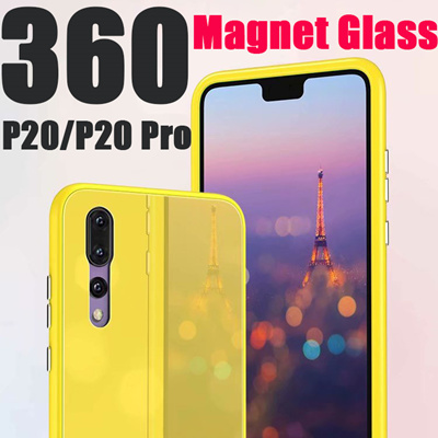 sports shoes 78067 81dce Macaron Magnetic Adsorption Phone Case for Huawei P20 P20 Pro