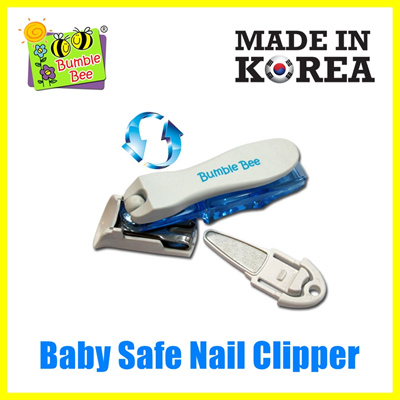 [MADE IN KOREA] Baby Safe Nail Clipper Trimmer Cutter Stainless Steel