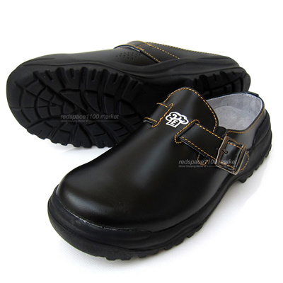e281f7f5dbe Qoo10 - ☆Made in Korea☆ Men Chef Shoes Cowhide Leather Kitchen Nonslip  Safety ...   Men s Bags   Sho.
